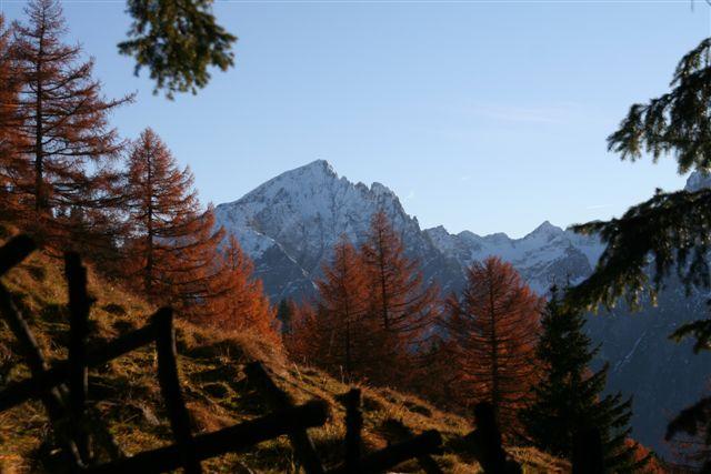 Hochstadel, Lienzer Dolomiten im Nov 2010